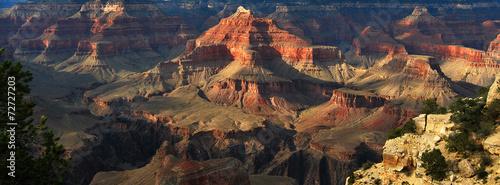 In de dag Route 66 Détail du Grand Canyon