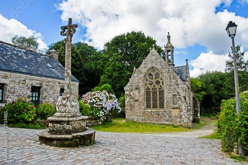 Fotografie, Obraz  Chapelle Notre-Dame-de-Bonne-Nouvelle