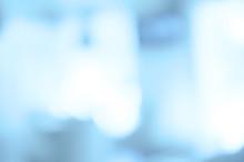 Fuzzy Photo, Blue Tones Background