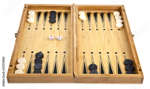 Fotografia, Obraz backgammon