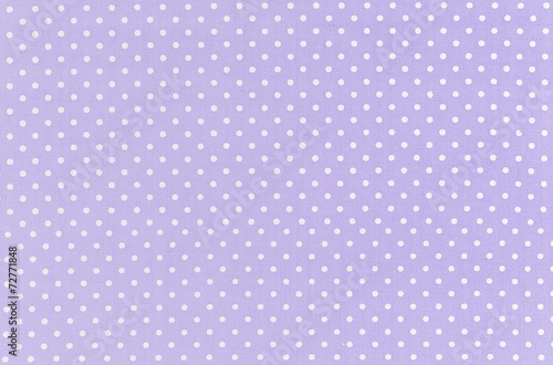 Fotobehang Stof Polka dot pattern