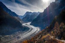 Mer De Glace-Chamonix-glacier
