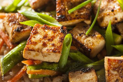 Photo Homemade Tofu Stir Fry