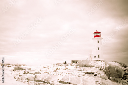Peggy's Cove Nova Scotia Wallpaper Mural