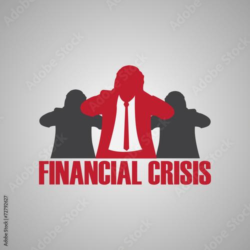 Photo  financial crisis