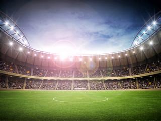 Naklejka Do pokoju młodzieżowego Stadium night