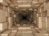 Fototapeta Fototapety do przedpokoju - tunnel