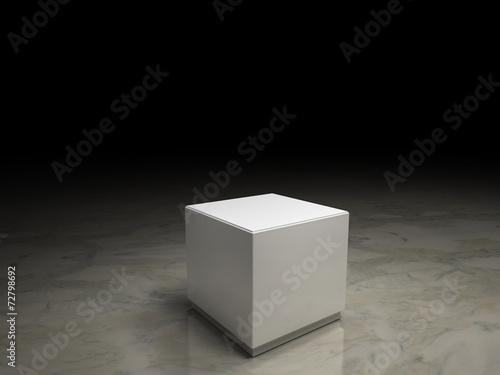 Fotografie, Obraz  white pedestal