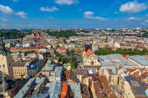Staande foto Praag Lviv bird's-eye view