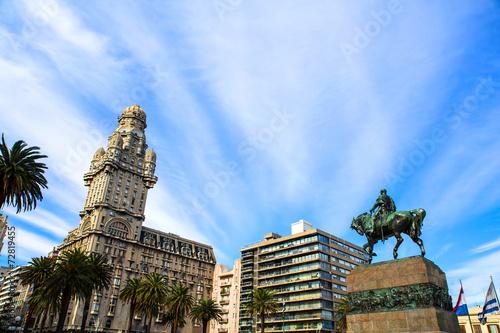 Cadres-photo bureau Amérique du Sud Plaza Independencia in Montevide