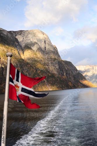 Photo  фьорды Норвегии