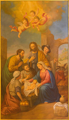 FototapetaSeville - The fresco of Nativity in the Macarena church