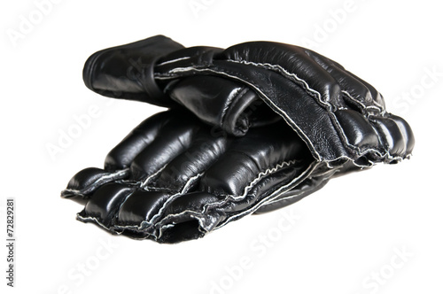 Photo  two mma boxing gloves