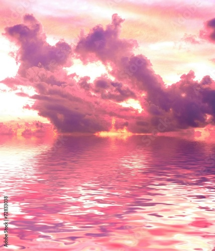 Photo Stands Candy pink Fantazy Sunset