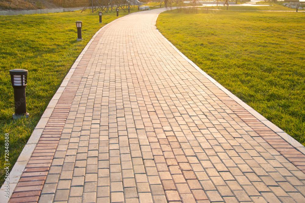 Fototapeta Sidewalk
