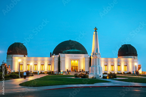 Photo  Griffith observatory in Los Angeles