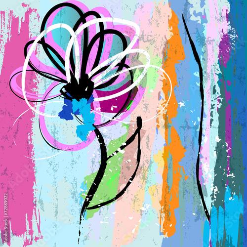 sztuczny-kwiat-ilustracja-lato-i-wiosna-wektor