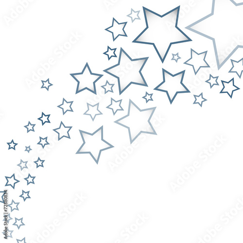 Wall mural - Abstract background with stars