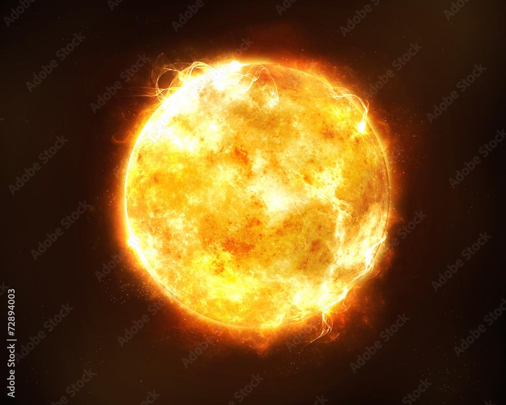 Fototapety, obrazy: Bright sun