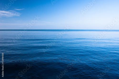 Canvas Print Blue Ocean