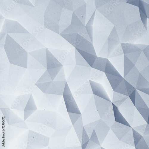 Valokuva  Abstract faceted paper background
