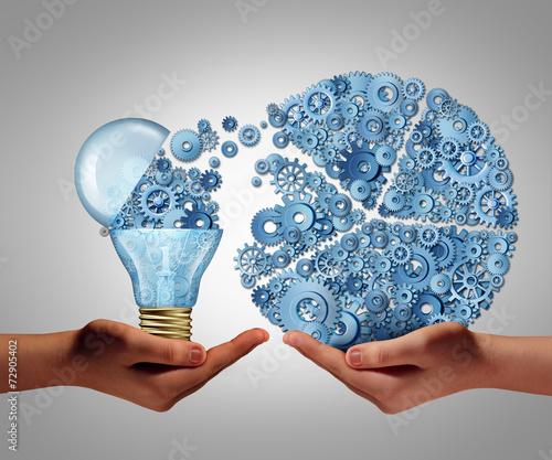 Fototapeta Investing In Ideas obraz