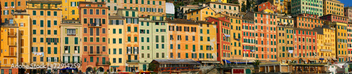 Canvas Prints Liguria Viaggio in Liguria, Camogli