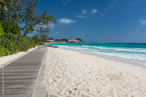 Photo Barbados - boardwalk at Accra Beach