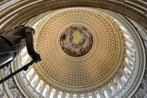Photo Dome inside of US Capitol, Washington DC