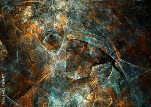 Photo sur Toile Les Textures Dark rusted background