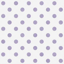 Purple And White Large Polka D...