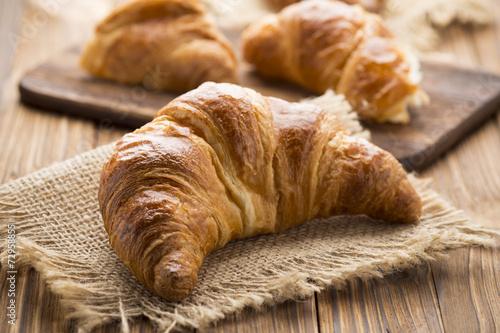 Fotografie, Obraz  Croissant.