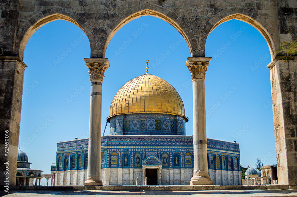 Fototapety, obrazy: Dome of the Rock on the Temple