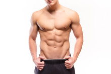 Shirtless Muscular Man Sexi Torso