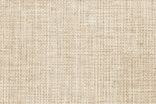 Natural Linen Fabric Texture For The Background.
