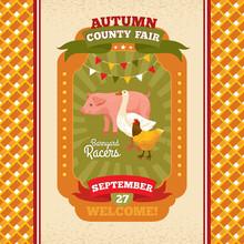County Fair Vintage Invitation...