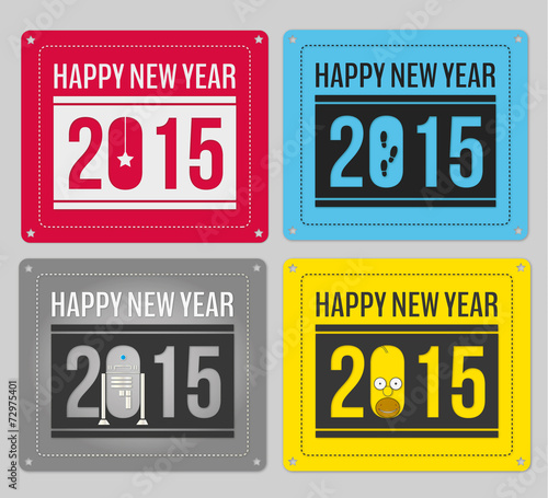 happy new year best Canvas Print