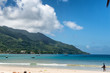 Relaxing View of Beau Vallon Bay at Seychelles