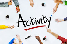 Multi-Ethnic Group Of People And Activity Concepts