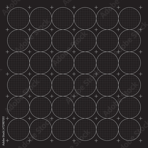 Staande foto Grafische Prints Grid for modern virtual technology user interface HUD