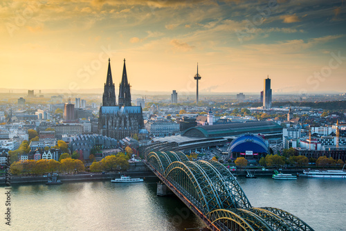 cologne late autumn Fototapet