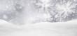 Leinwanddruck Bild - Weihnachtskarte, Weihnachten, Hintergrund, Winter, Silber, Grau