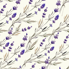 Naklejka Do salonu Provence lavender decor4