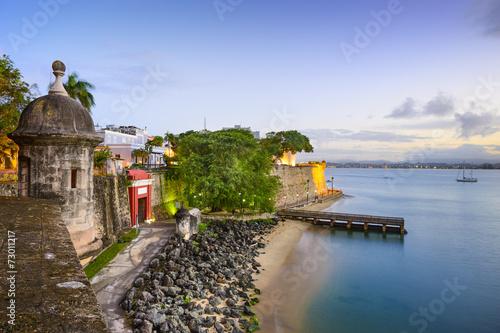 Cadres-photo bureau Caraibes San Juan, Puerto Rico