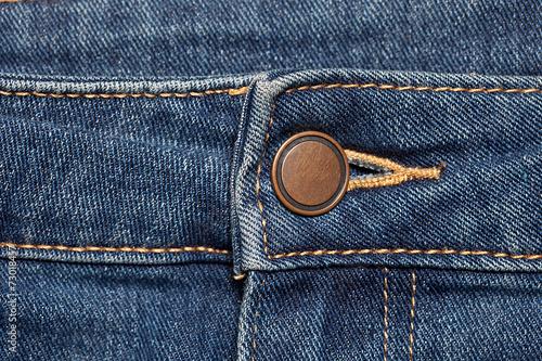 Fotografia, Obraz  Jeans with button