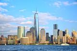 Drapacze chmur na Manhattanie