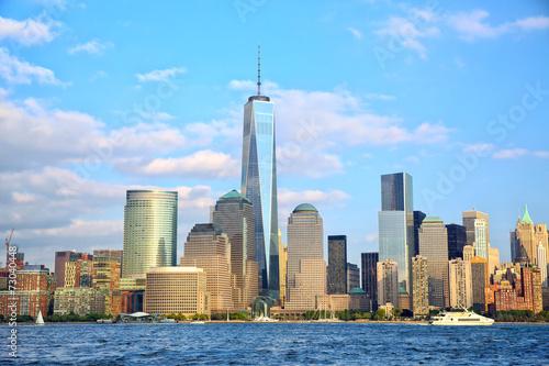 Photo  Lower Manhattan skyscrapers, New York City
