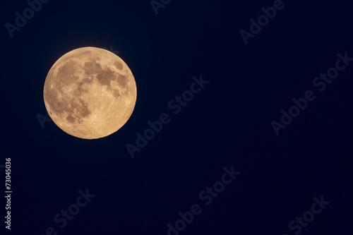 Fotografiet luna piena