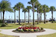 Bridge Of Lions Gardens - St. Augustine