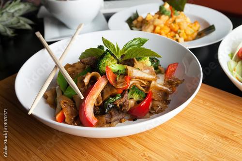 Valokuva  Drunken Noodle Pad Kee Mao